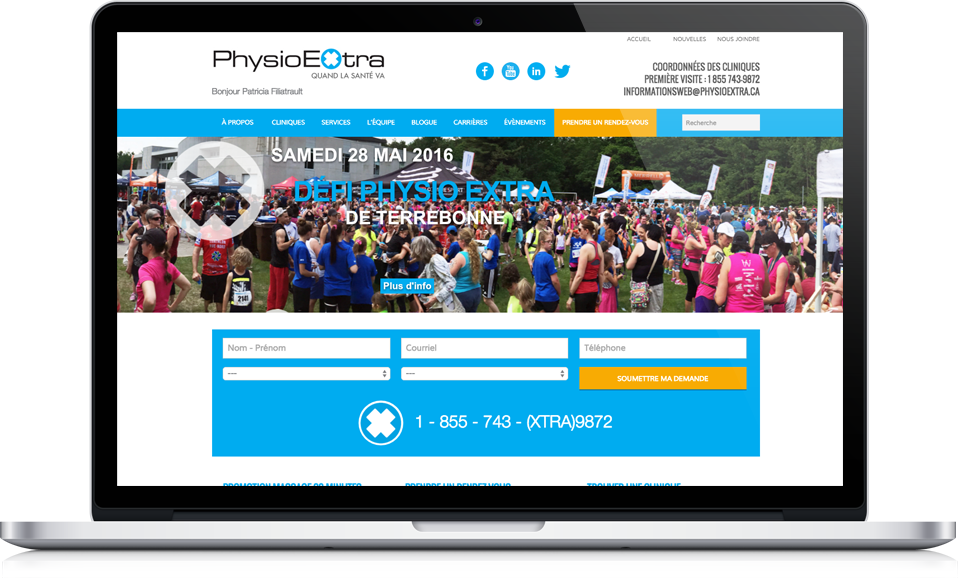 PhysioExtra-ancien site web